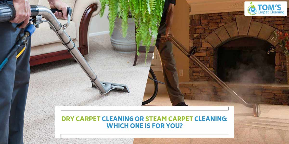 Dry Carpet Cleaning or Steam Carpet Cleaning: Which one is for you?