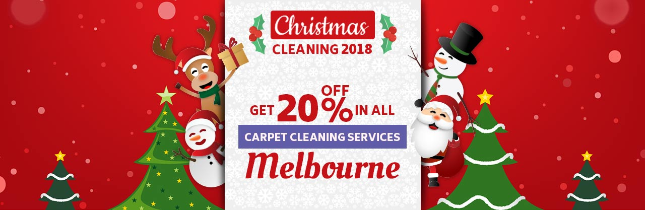Christmas Carpet Melbourne Cleaning