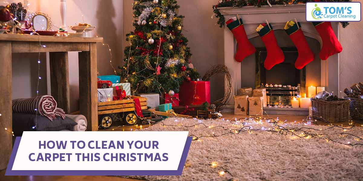 How To Clean Your Carpet This Christmas
