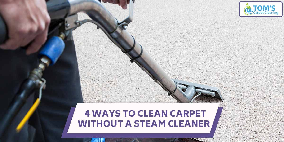 4 Ways To Clean Carpet Without a Steam Cleaner
